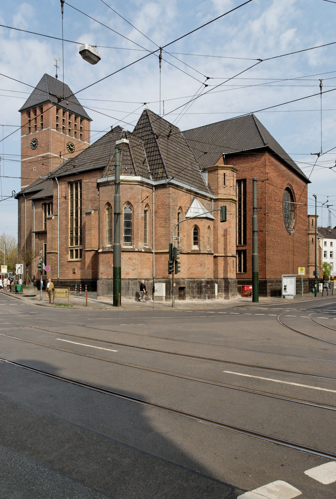 martinskirche d sseldorf unterbilk wikipedia. Black Bedroom Furniture Sets. Home Design Ideas