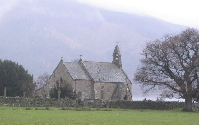 St Begas Church at Bassenthwaite Lake. - geograph.org.uk - 86647