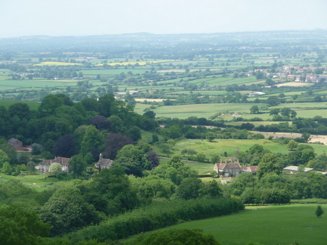 Stoke Wake, looking down on the village - geograph.org.uk - 1374876