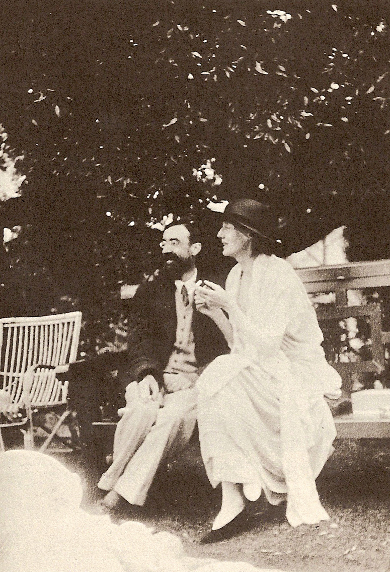 Clarissa and Septimus in Mrs. Dalloway
