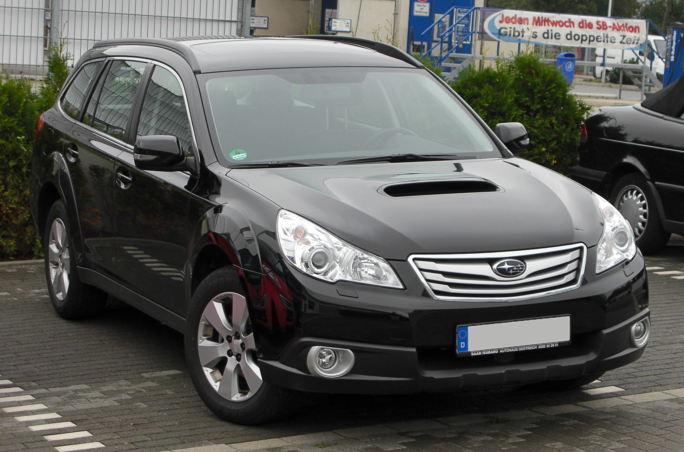File Subaru Outback Iv 2 0d Awd Active Front 20101017 Jpg