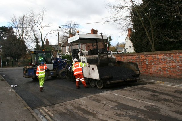 Tarmac dispenser - geograph.org.uk - 1182613