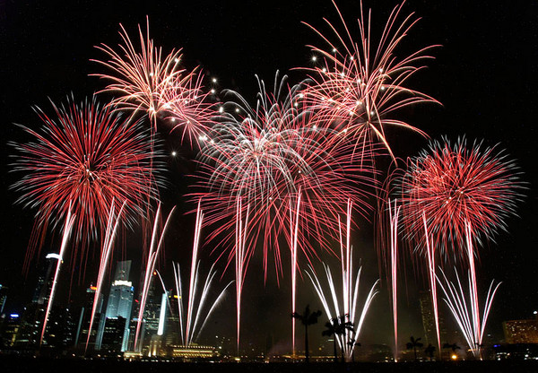 English: Photo of Team Singapore fireworks dis...