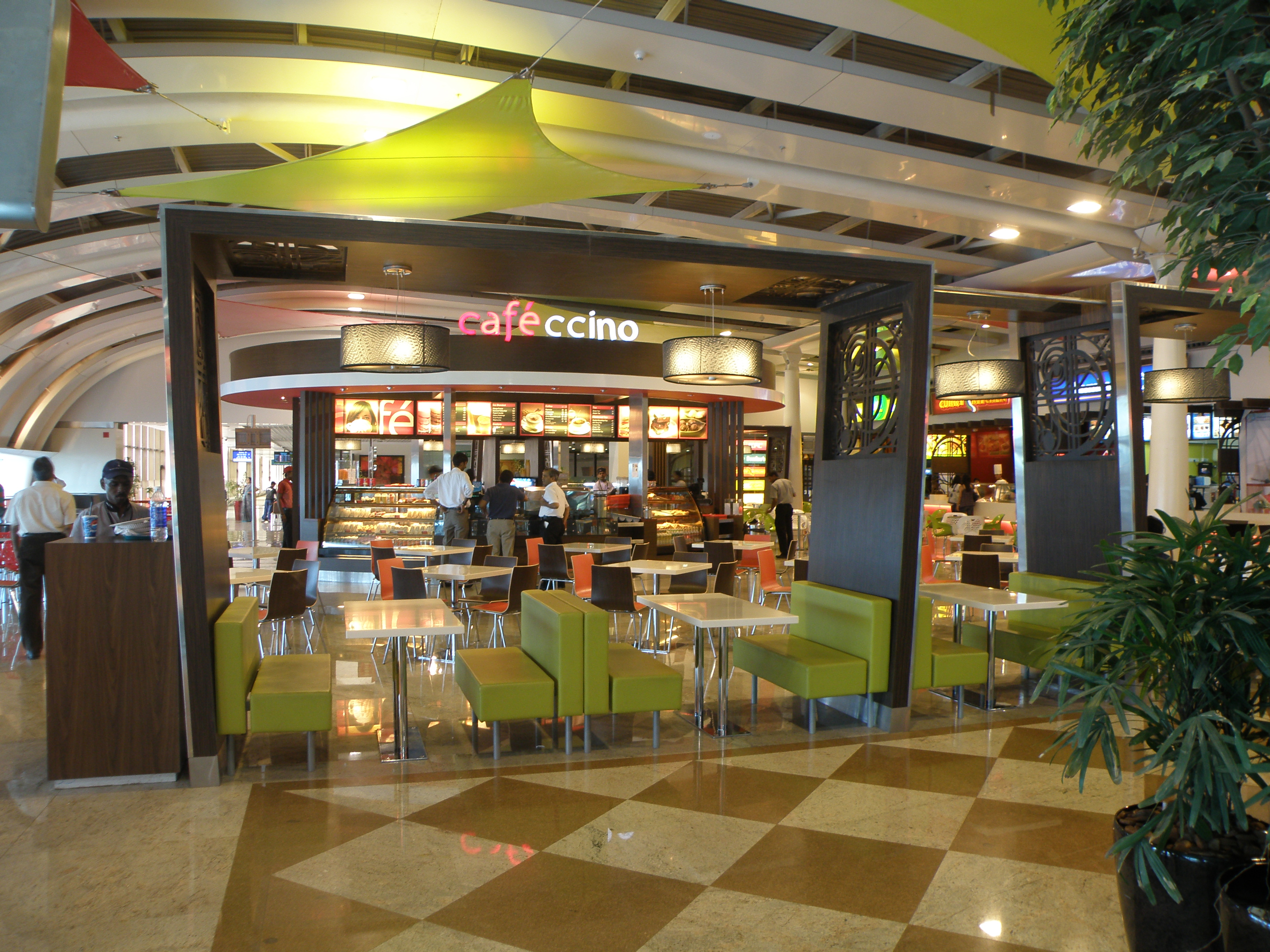 File Terminal Food Court Between Terminals 1a And 1c At