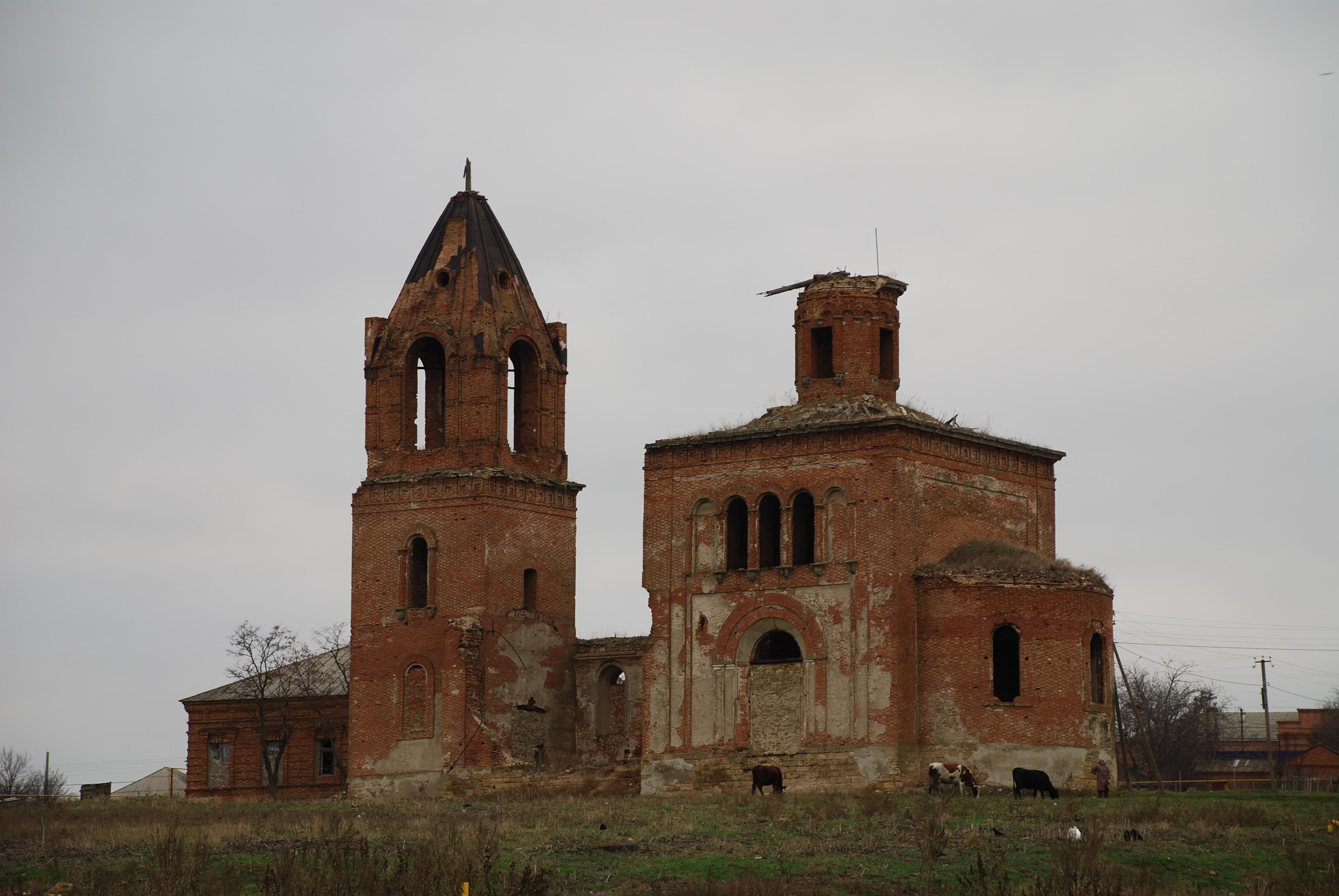 Η εκκλησία του Αγίου Γεωργίου στο Sultan-Saly