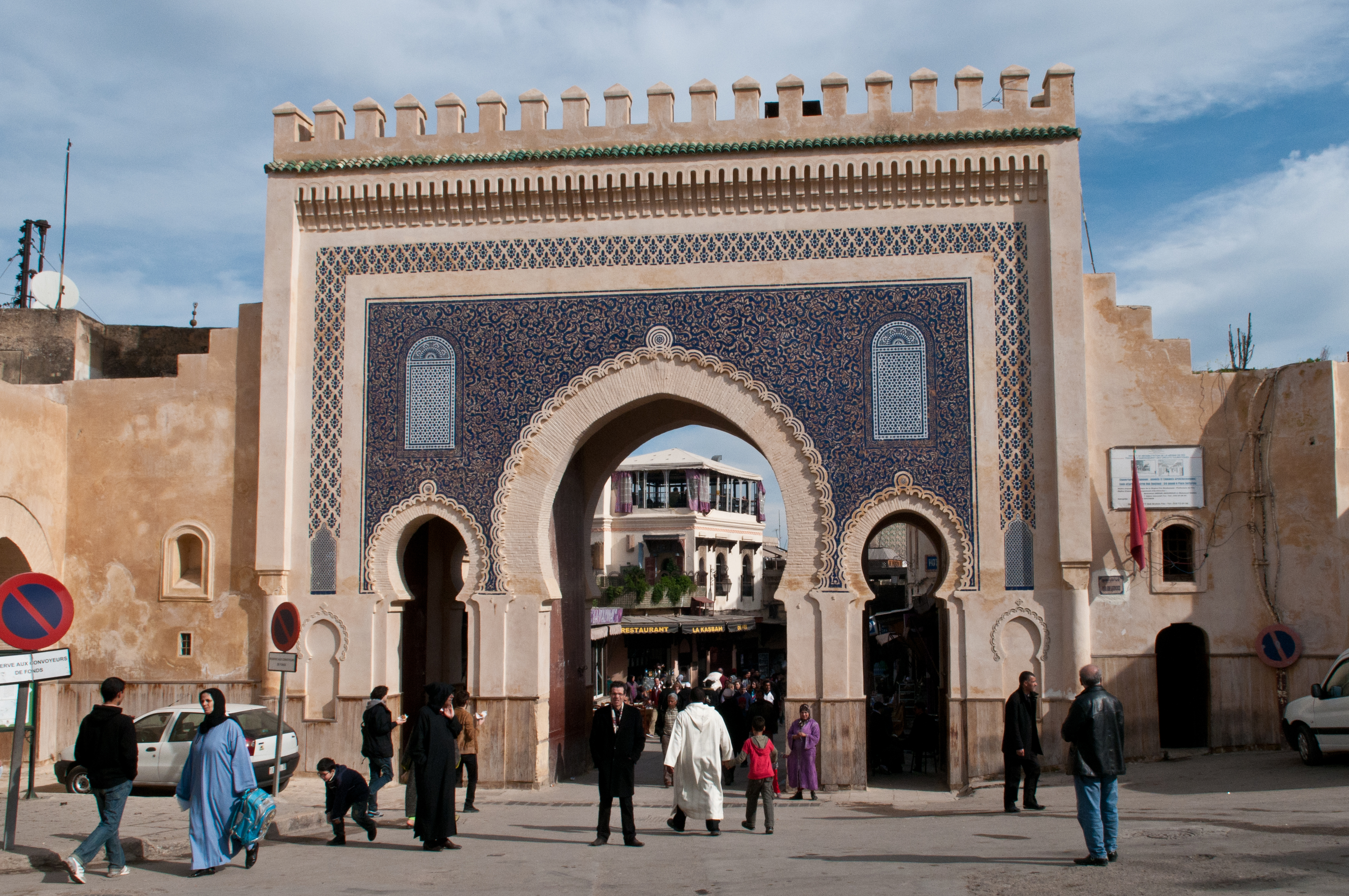 Image result for blue gate of fez