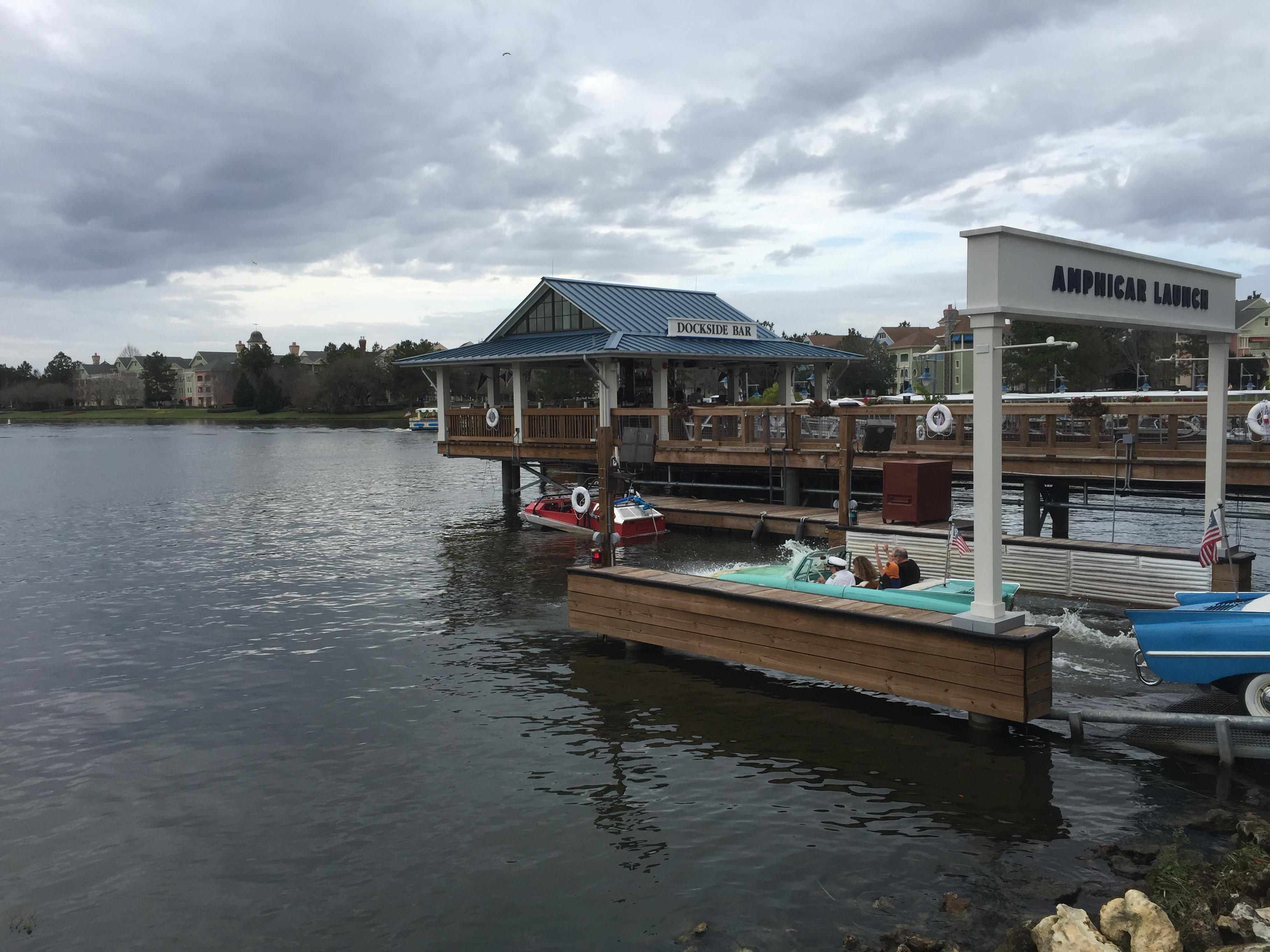 disney valentine's day amphicar boathouse