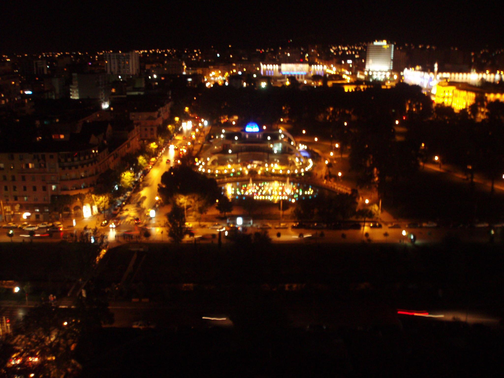 File tirana at night jpg wikimedia commons