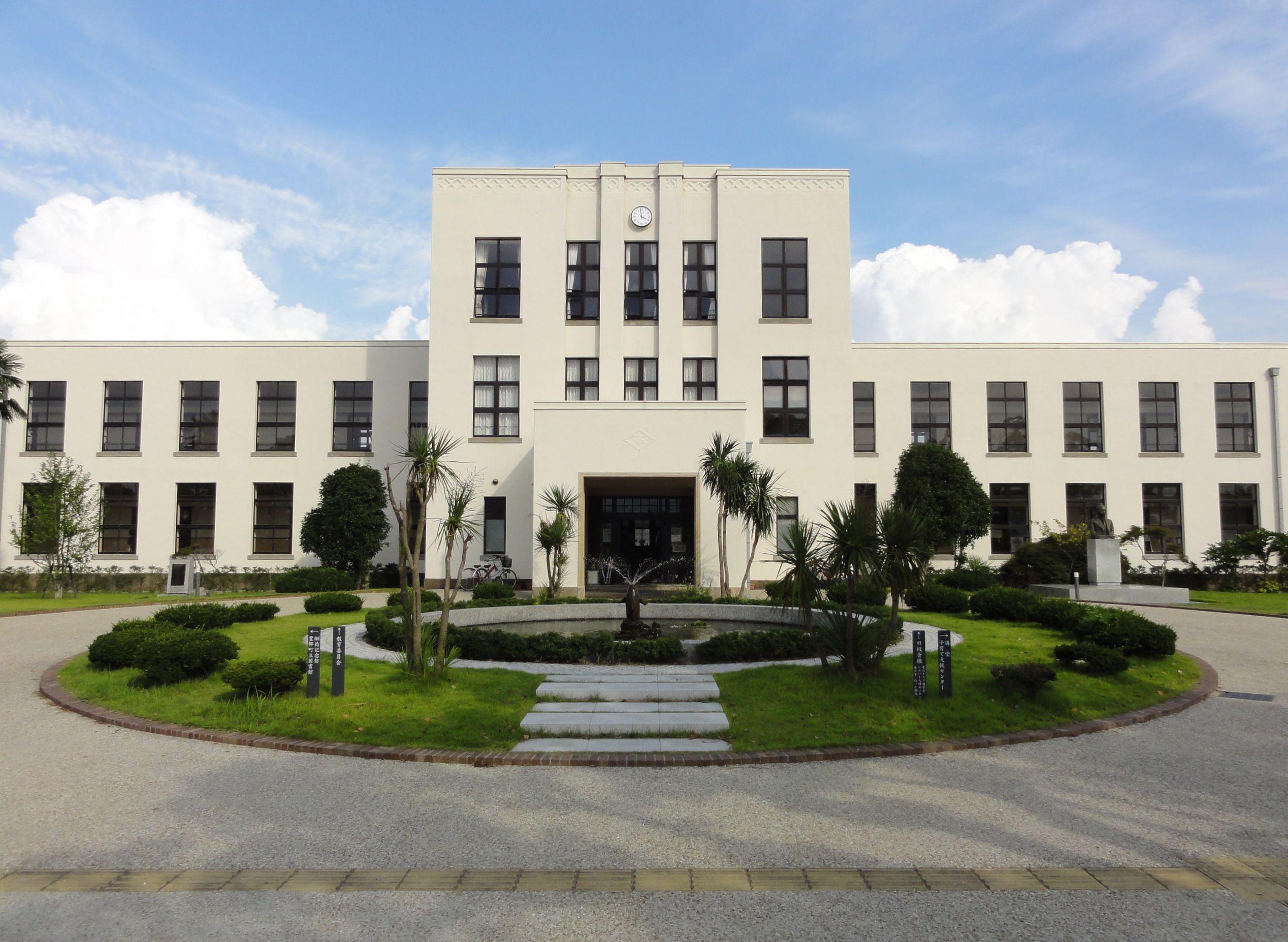 File Toyosato Elementary School Old Building Jpg
