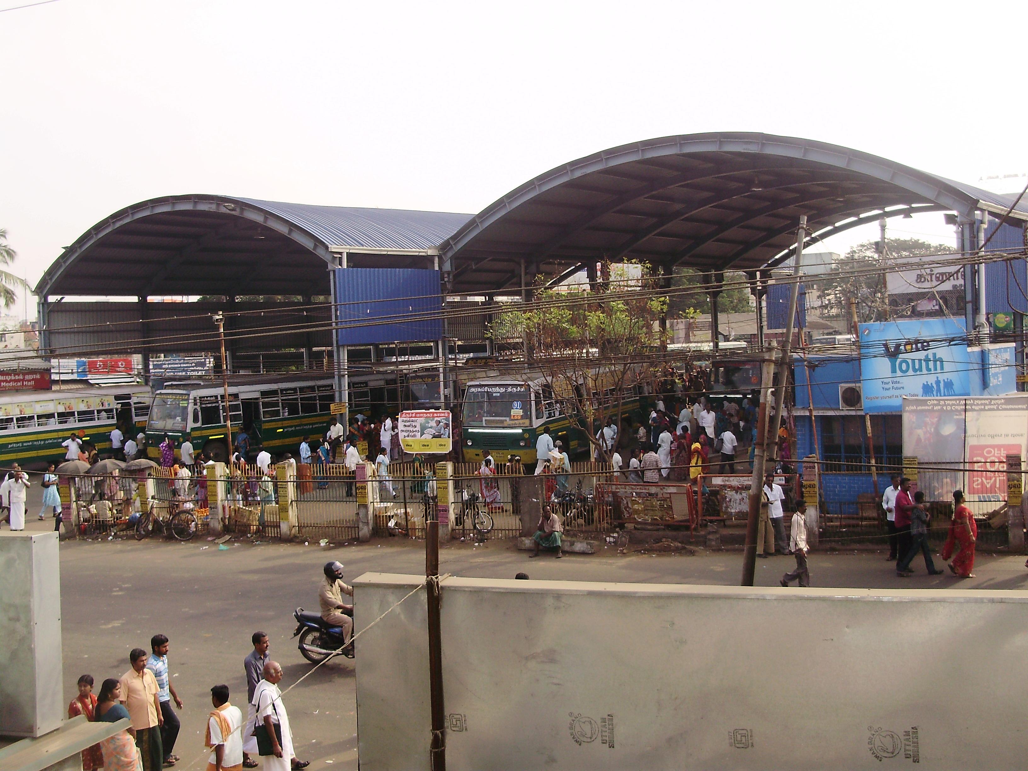 Chathiram Bus Station, Tiruchirappalli - Wikipedia