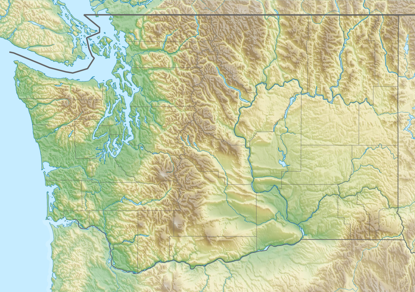 ski areas in washington state map Ski Bluewood Wikipedia