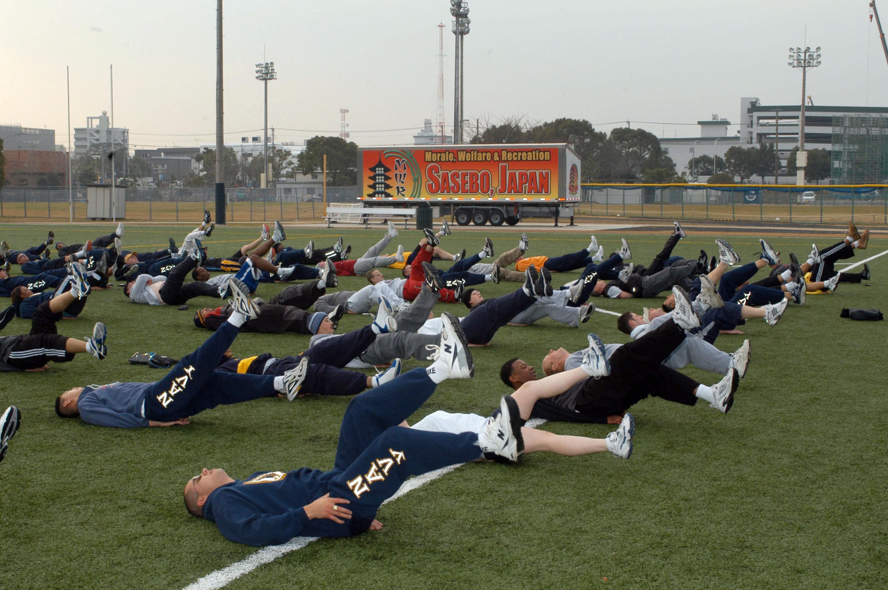File:US Navy 050225-N-2970T-038 Sailors perform flutter kicks during