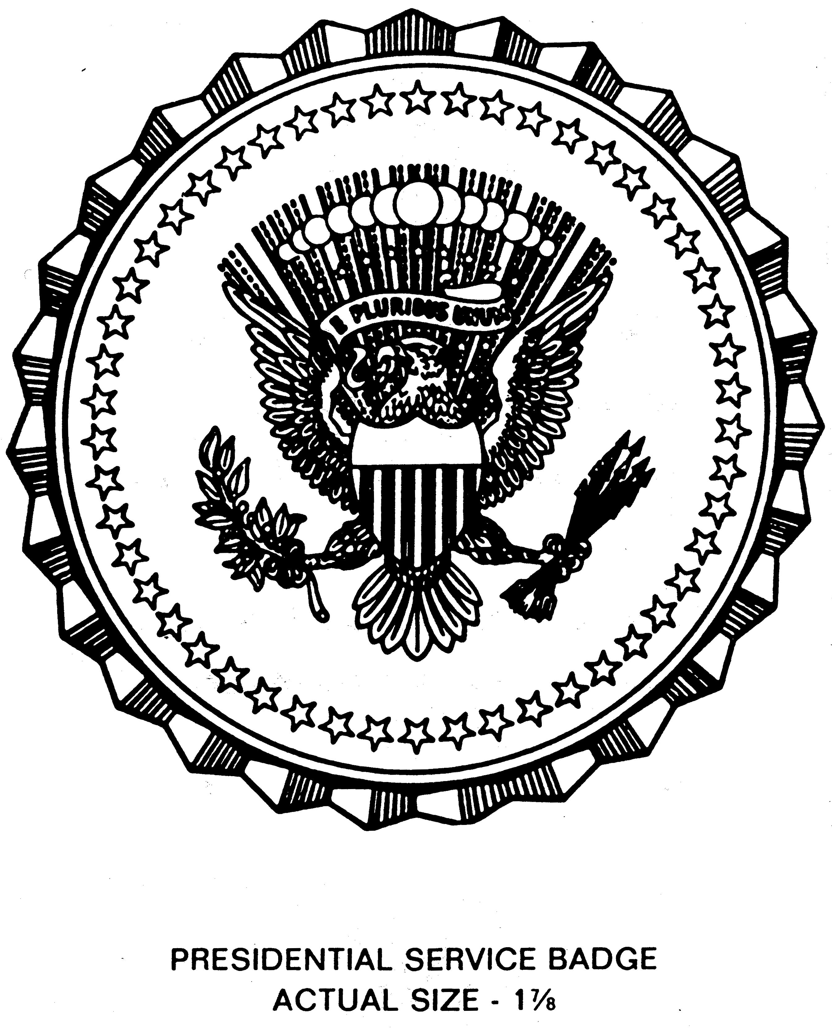 file us presidential service badge eo12793 jpg wikimedia commons