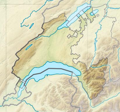 canton de vaud carte File:Vaud relief location map.   Wikimedia Commons