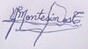 signature de Vladimiro Montesinos