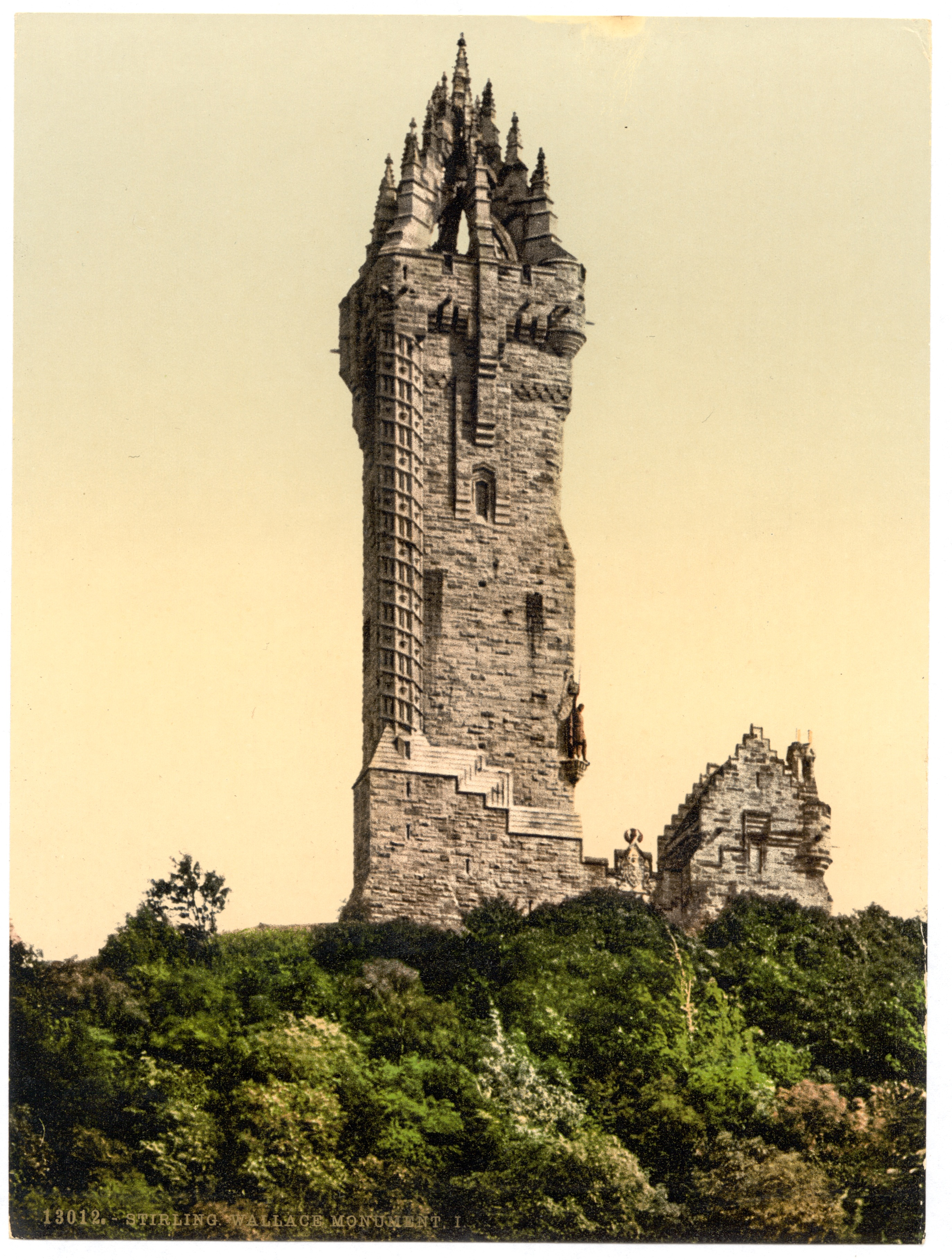 file wallace monument  stirling  scotland