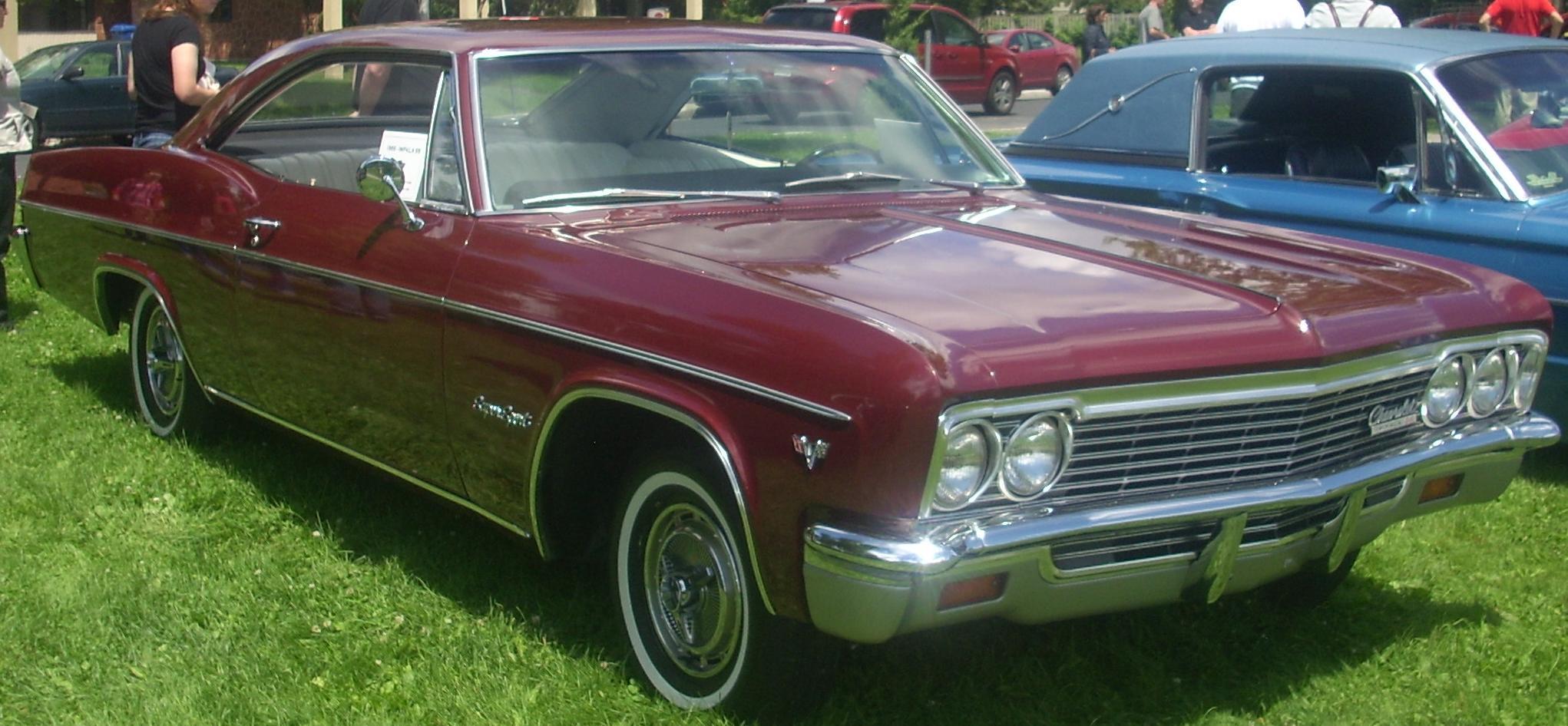 File:'66 Chevrolet Impala SS Coupe (Remblement Saint-Bruno-De ...