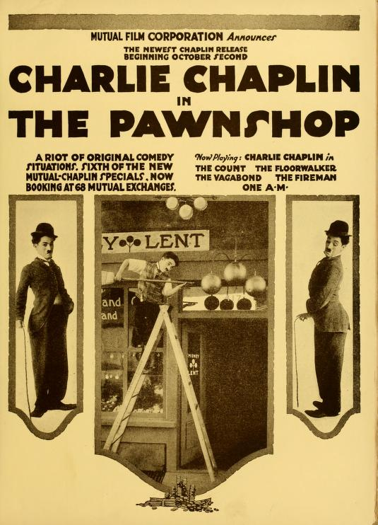 Charlie Chaplin in THE PAWNSHOP