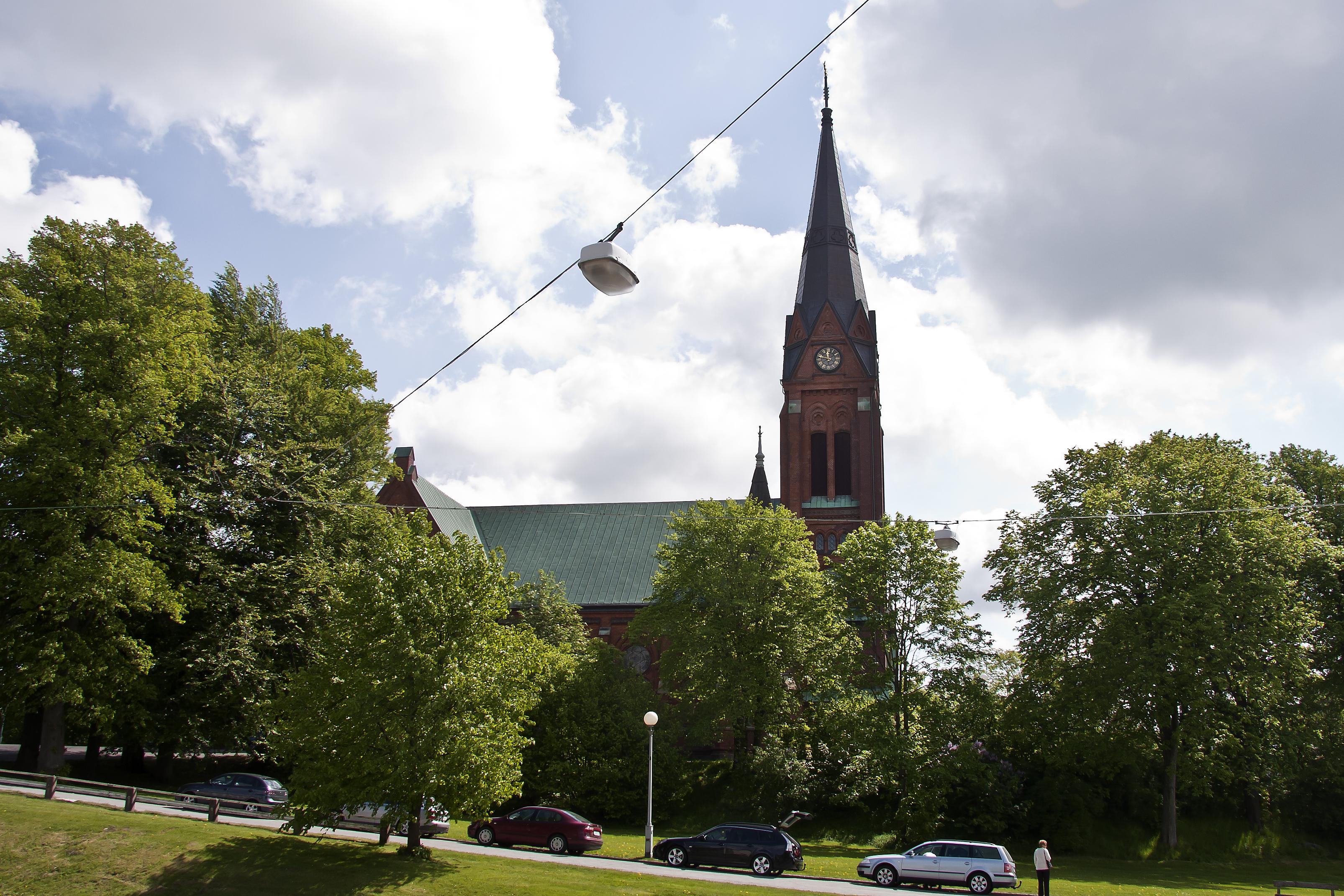 Bild av Örgryte nya kyrka