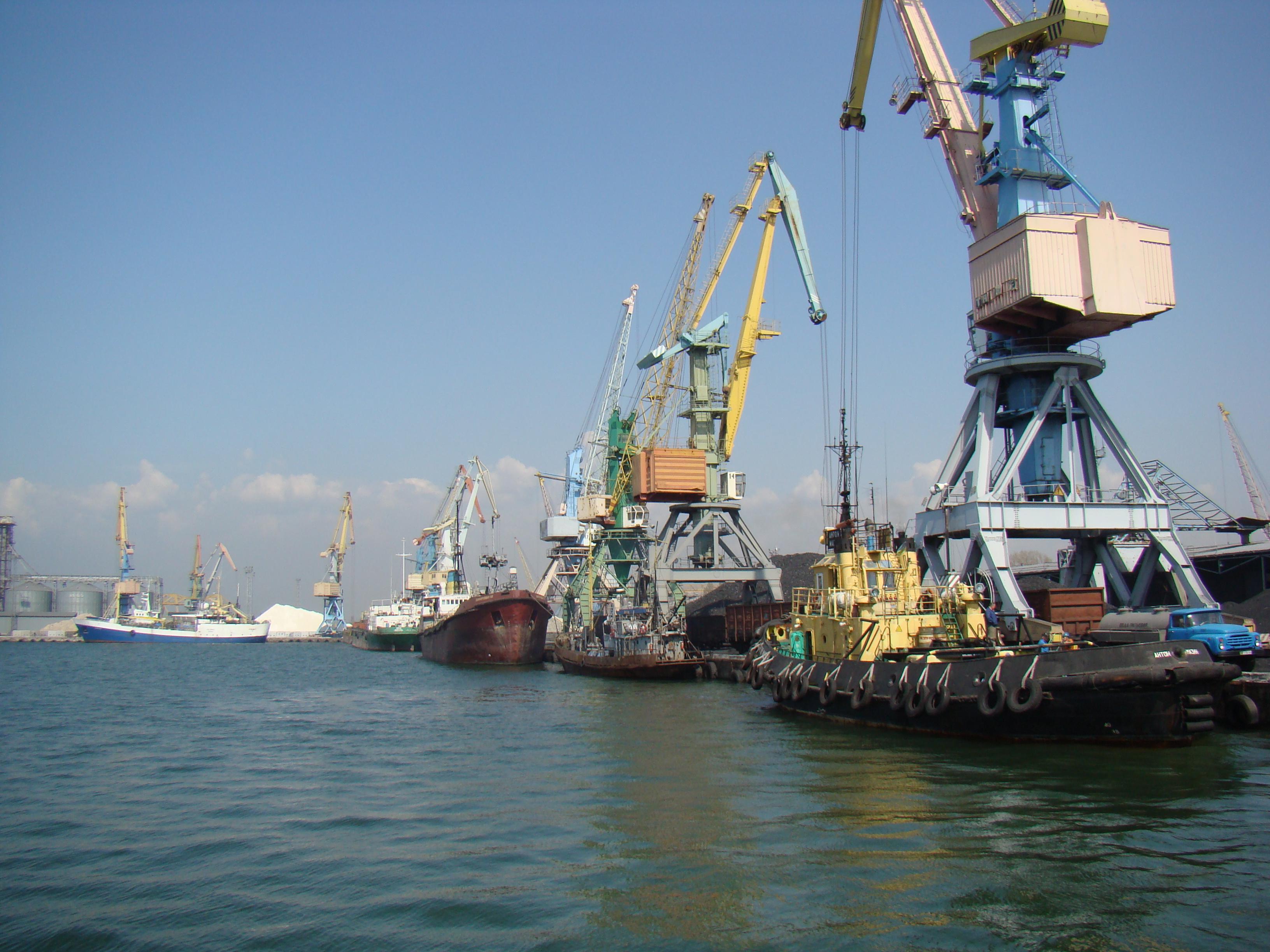 Бердянский морской порт — Википедия