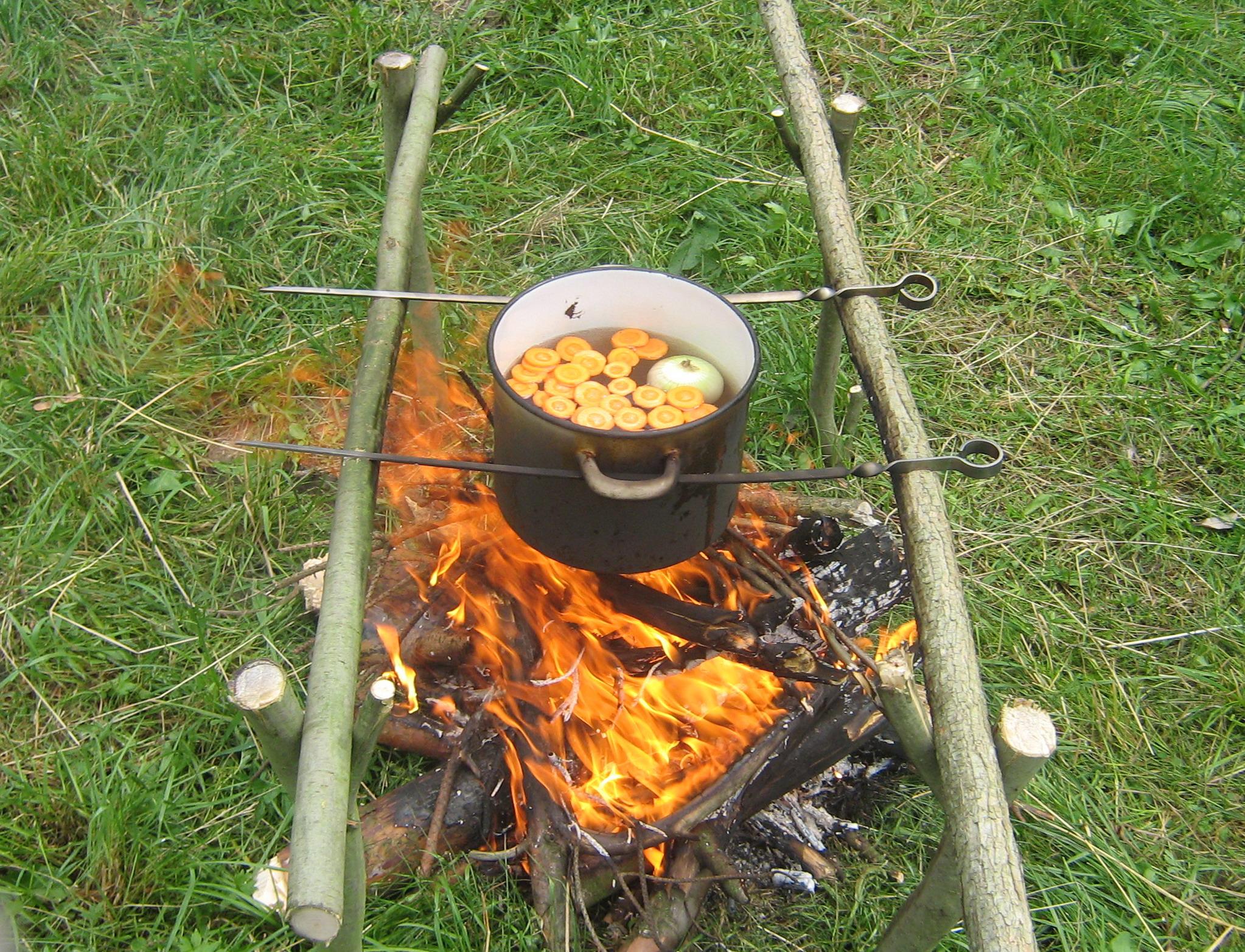 Рецепты супов на костре