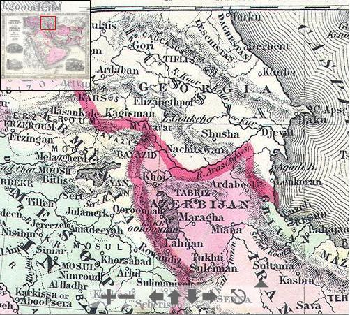 File1864 Johnson Map of Turkey Persia Arabia Iran Iraq – Map of Iraq and Afghanistan