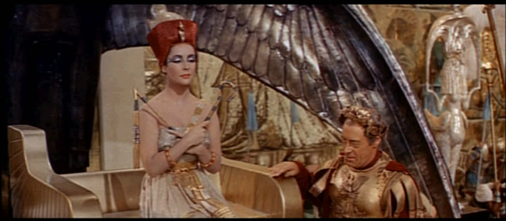 Roddy Mcdowall And Elizabeth Taylor Cleopatra (film 1963) ...