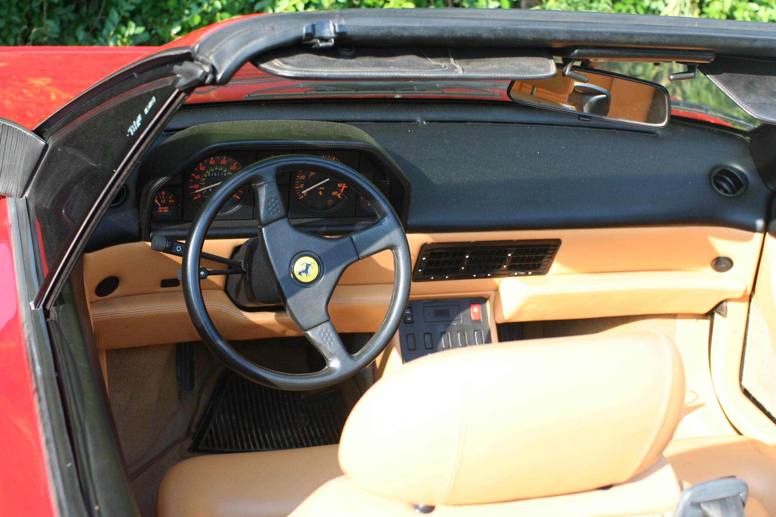 1991_Ferrari_Mondial_t_cabriolet_dash Breathtaking Ferrari Mondial T Cabrio Kaufen Cars Trend