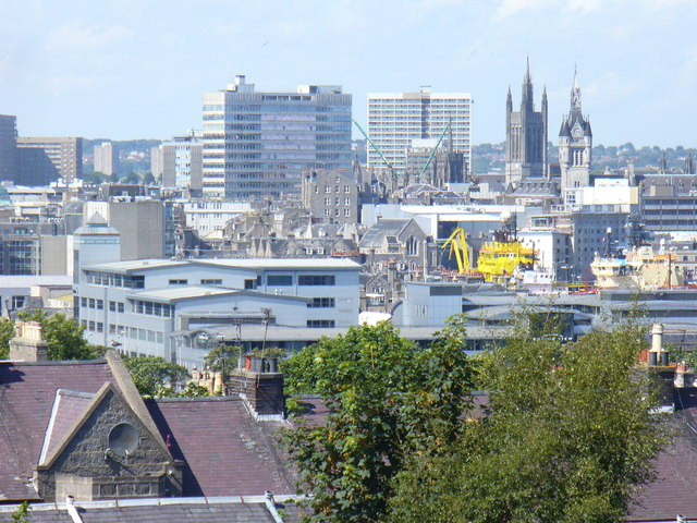 Aberdeen from Torry - geograph.org.uk - 1454885