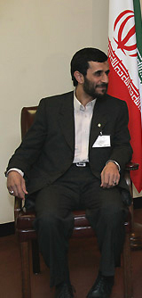 Dr. Mahmoud Ahmadinejad, current President of Iran