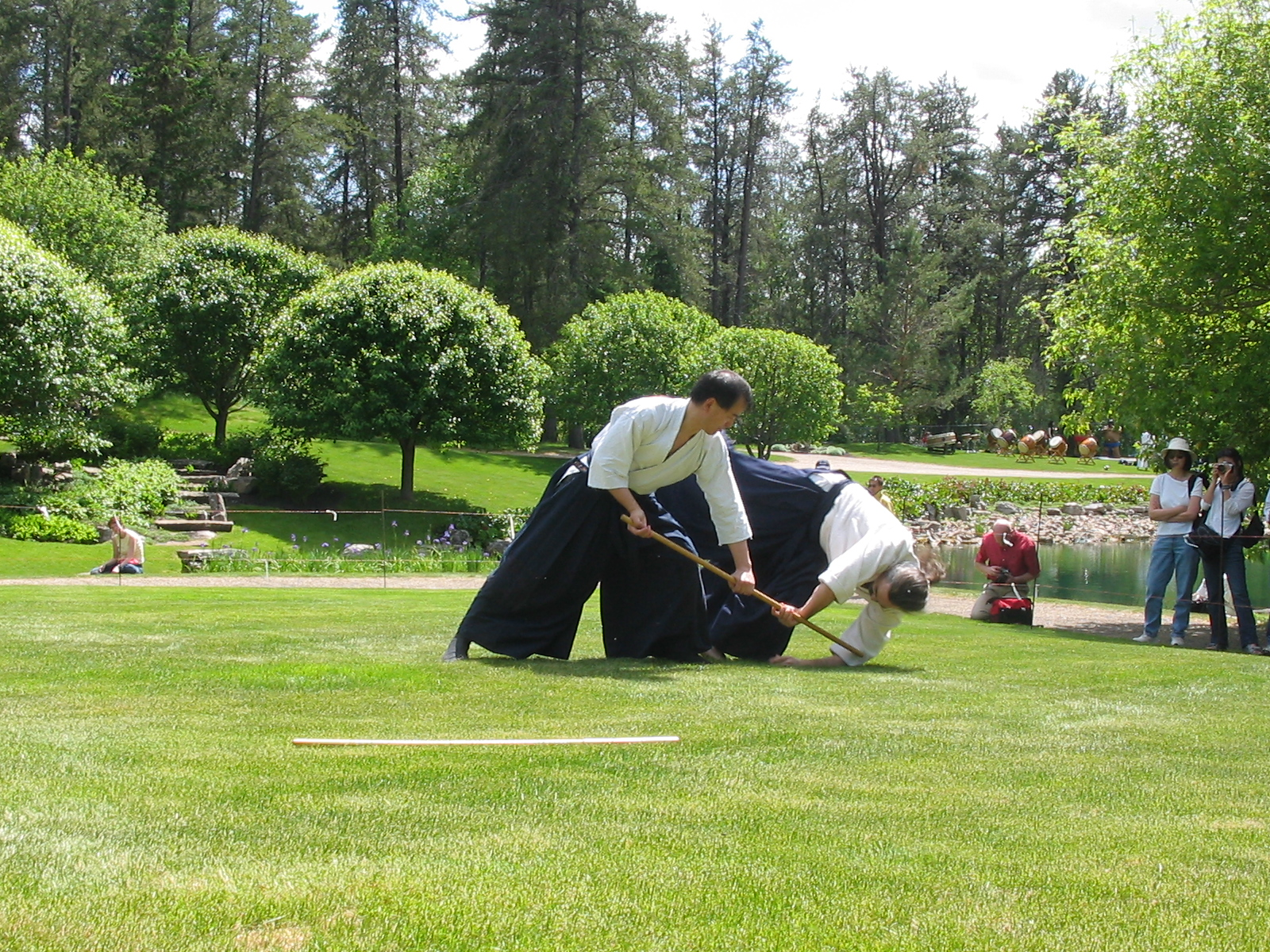 Description aikido at the japanese garden 03