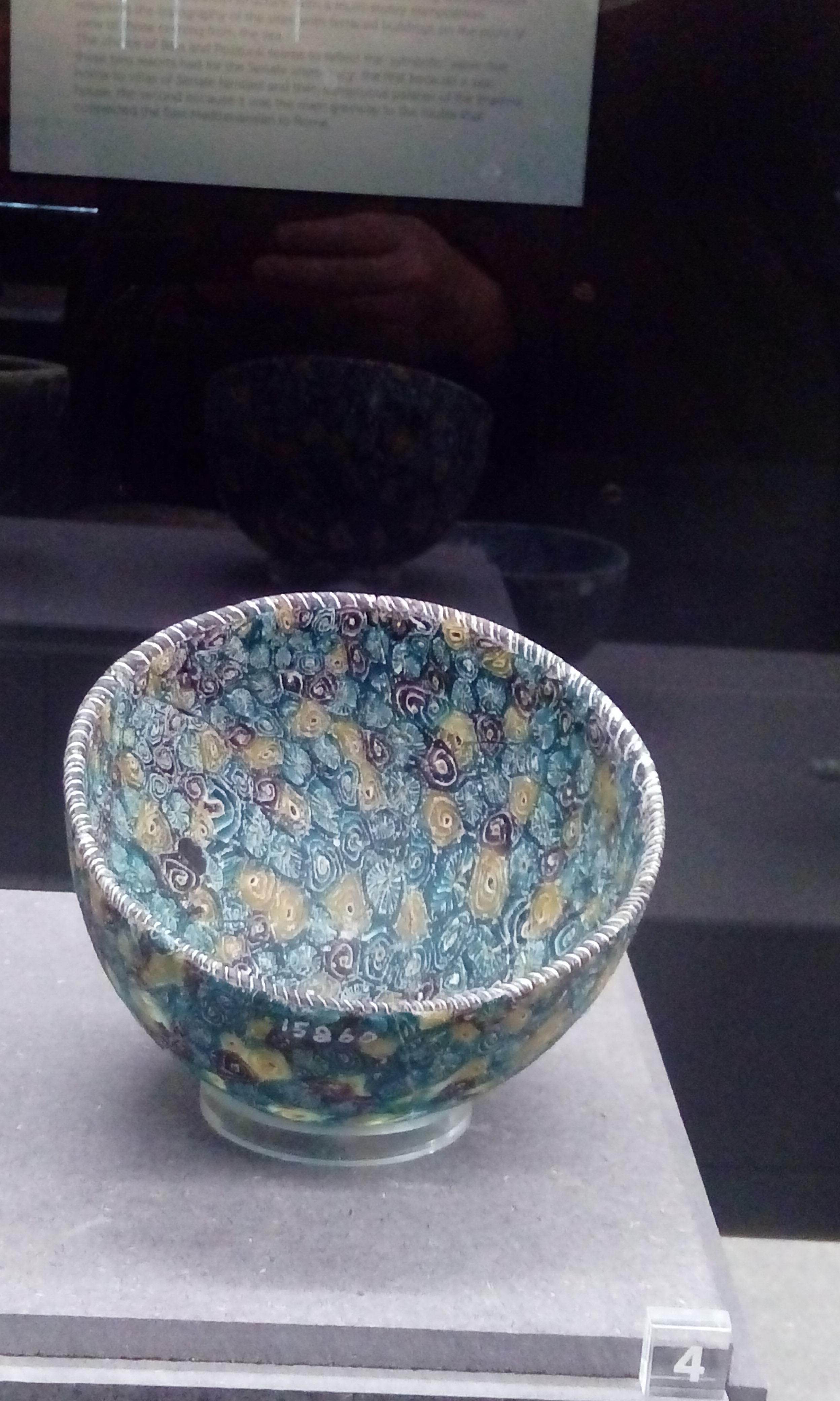 File Ancient Roman Millefiori Bowls 4 Late 1st Century Bc Museo Archeologico Di Firenze Foto Giovanni Dall Orto 12 Jan 2018 Jpg Wikimedia Commons