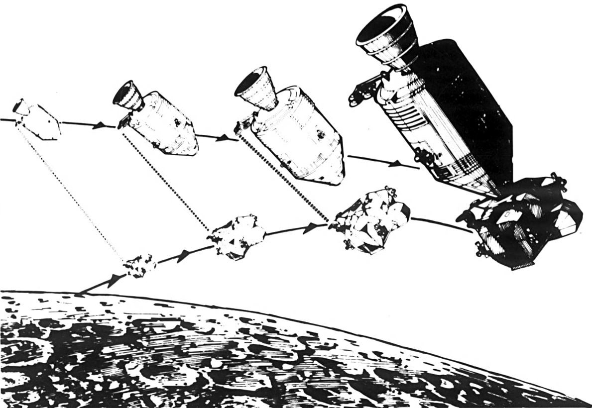 drawing apollo 11 moon lander - photo #15