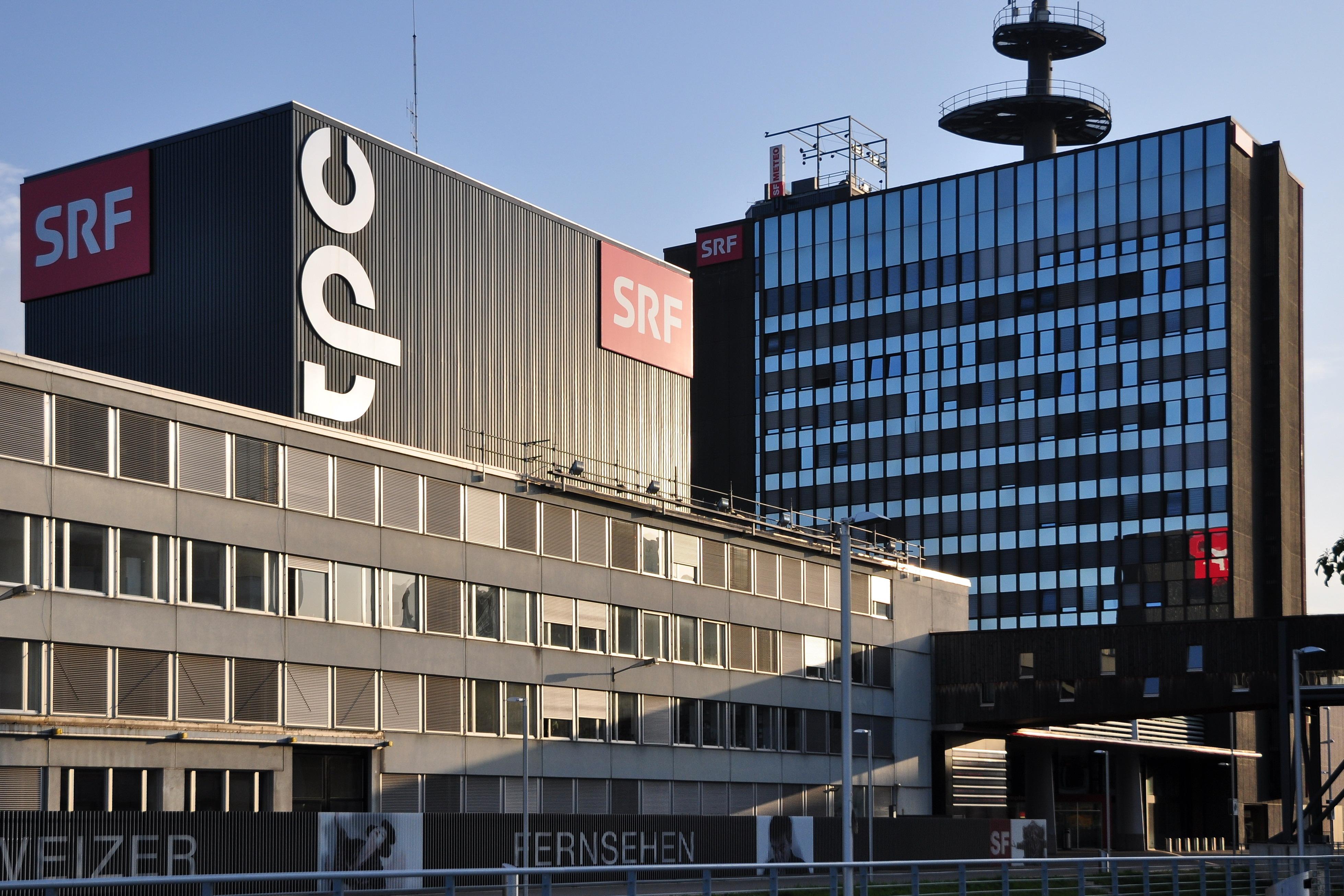 FileArchiv Schweizer Fernsehen DRS, Fernsehstrasse 1 in