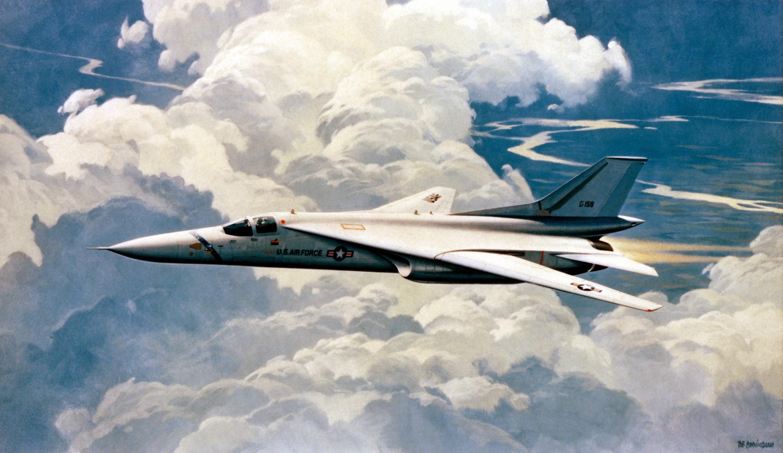 Fighter-bomber - General Dynamics F-111 (F-111 Aardvark ...