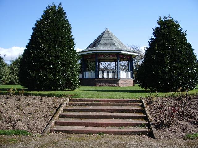 Bandstand Castle Park - geograph.org.uk - 803334