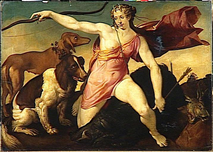Bartolomeo Passarotti - Diane hunting