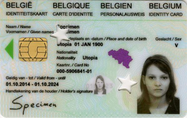 titre de noblesse carte d identité Carte d'identité belge — Wikipédia