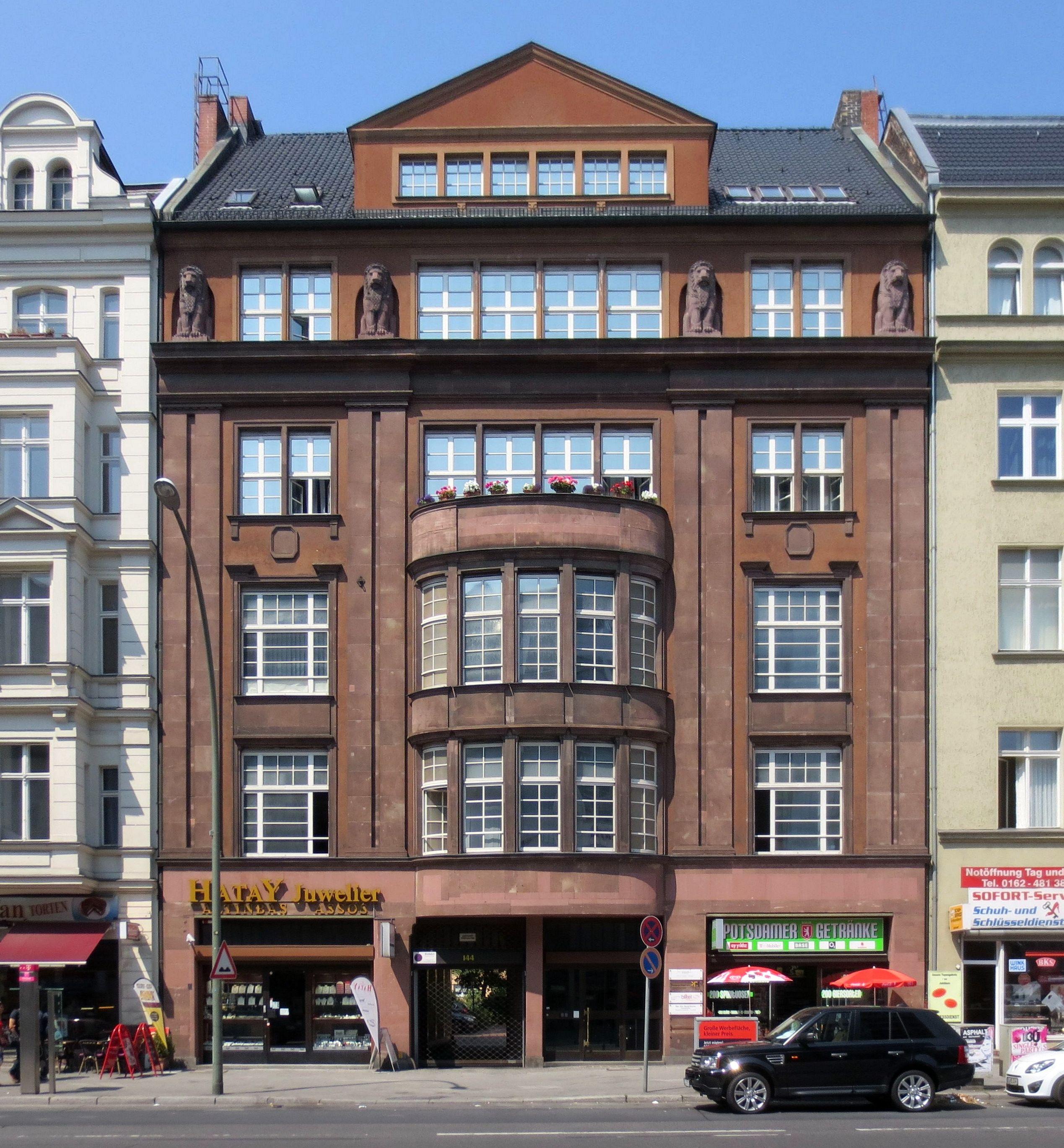 file berlin schoeneberg potsdamer strasse 144 wohn und wikimedia commons. Black Bedroom Furniture Sets. Home Design Ideas