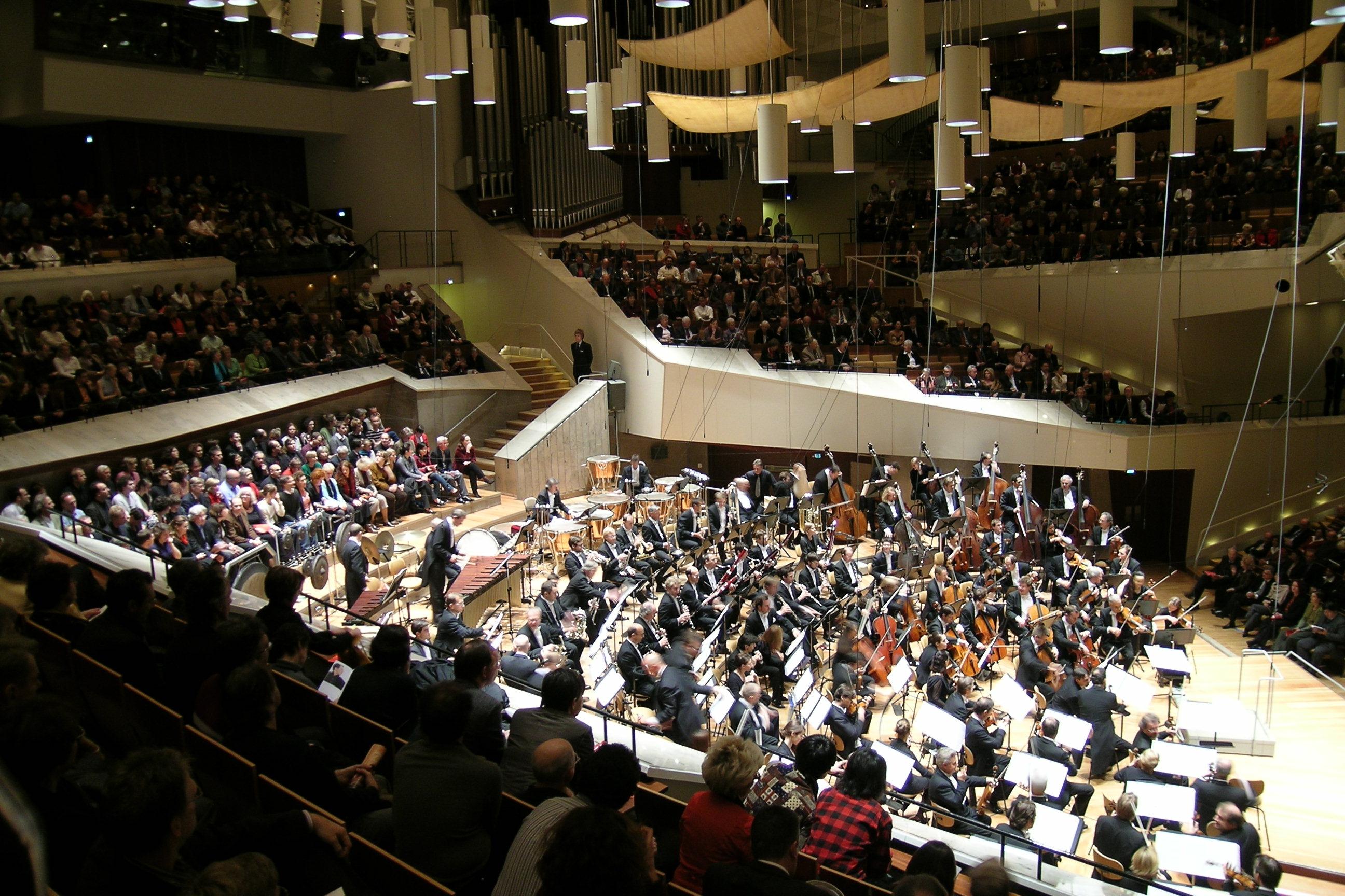 Konzert der Berliner Philharmoniker in Tiergarten
