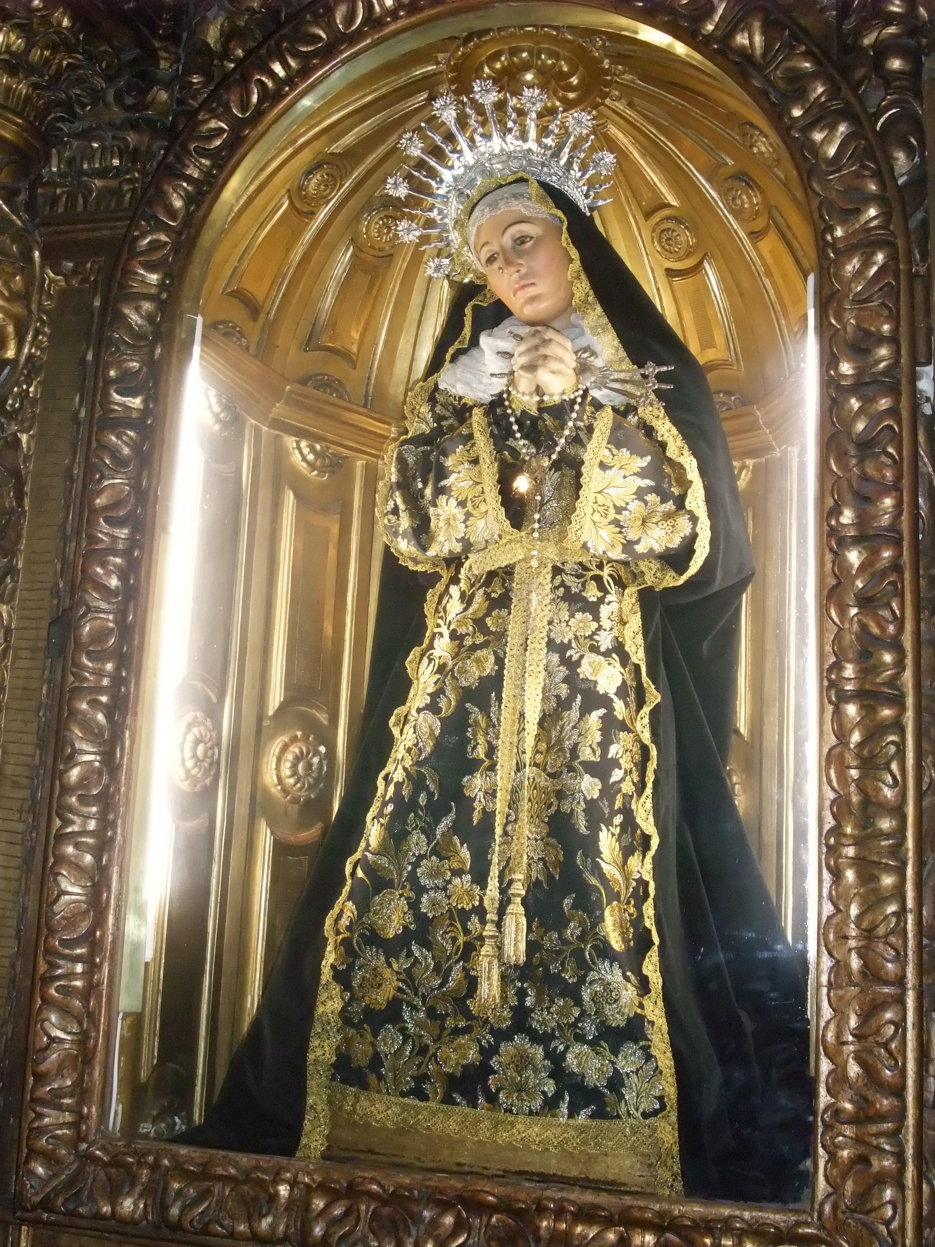 De Los Santos Juanes Virgen Dolorosa Raimundo Capuz