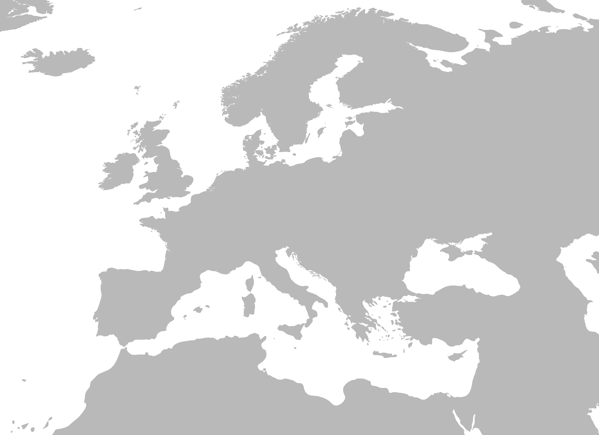 Maps: Blank Map Of Europe And Asia