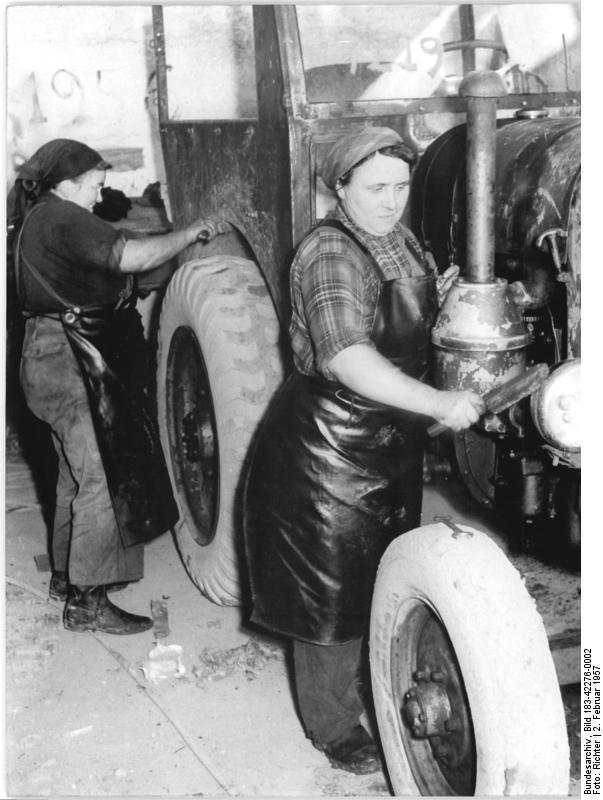 generalüberholung alter traktoren