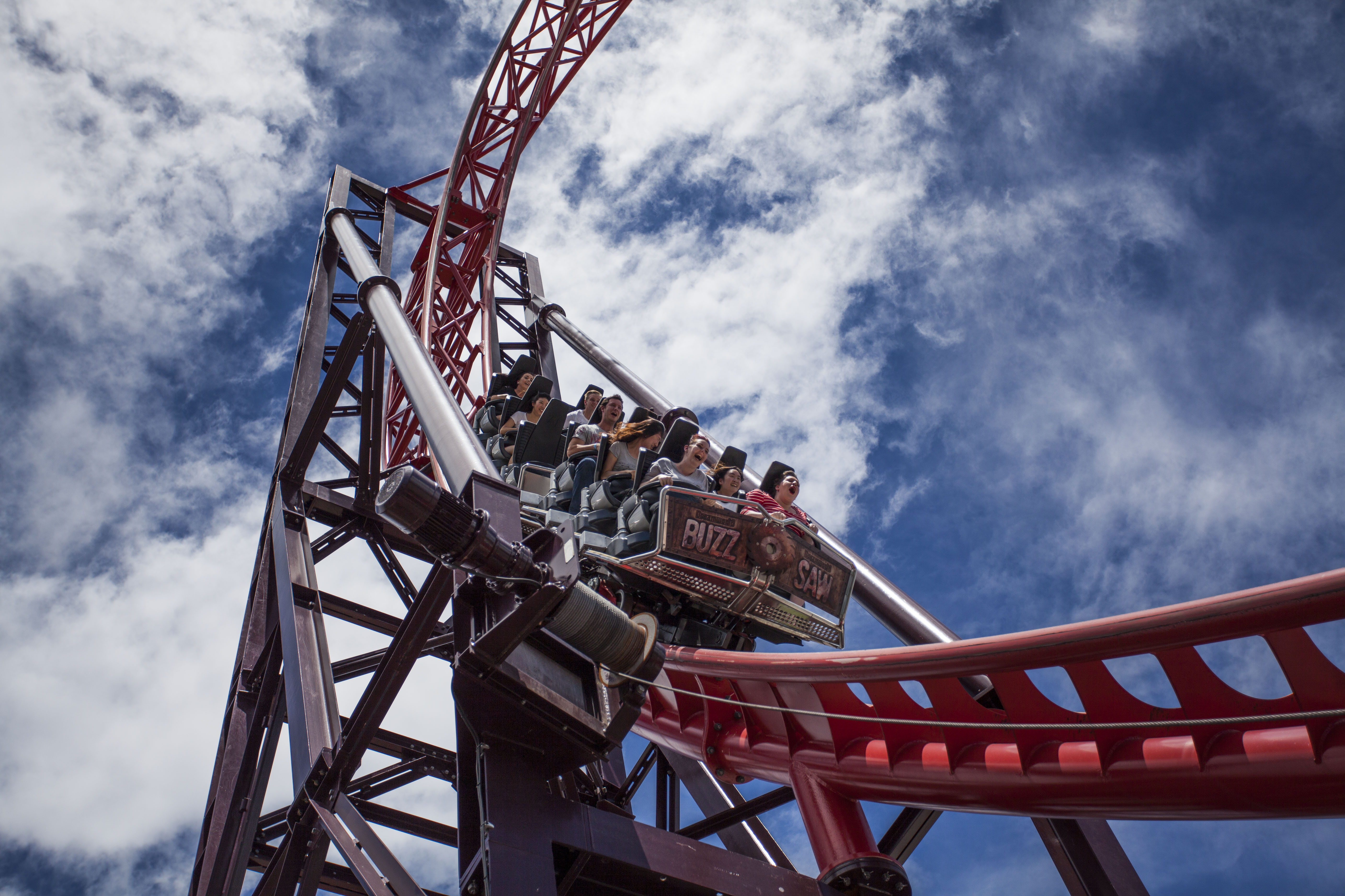 Gold Coast Motorsports >> BuzzSaw (roller coaster) - Wikiwand
