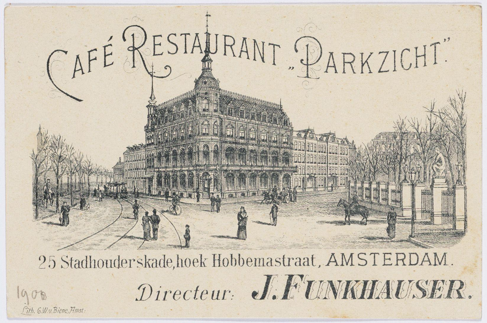 Parkzicht Hotel Amsterdam