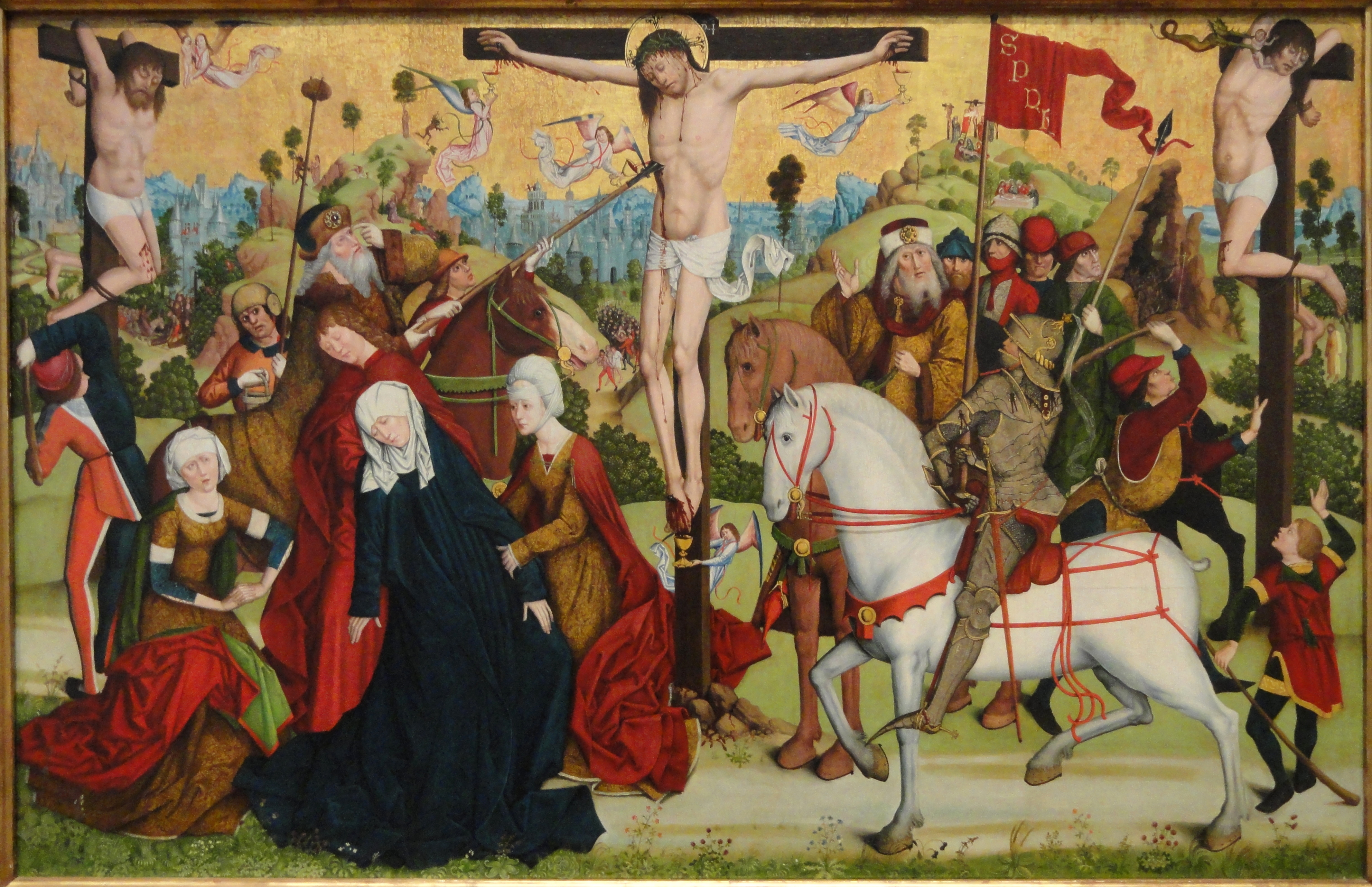 File:Calvary, by the Master of the Death of Saint Nicholas of Munster,