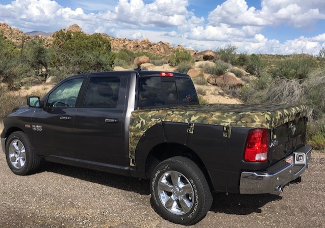 comes in different colors and different sizes to accommodate different truck bed sizes. The Adjustable Bungees and Bungee Keeper can be bought separately