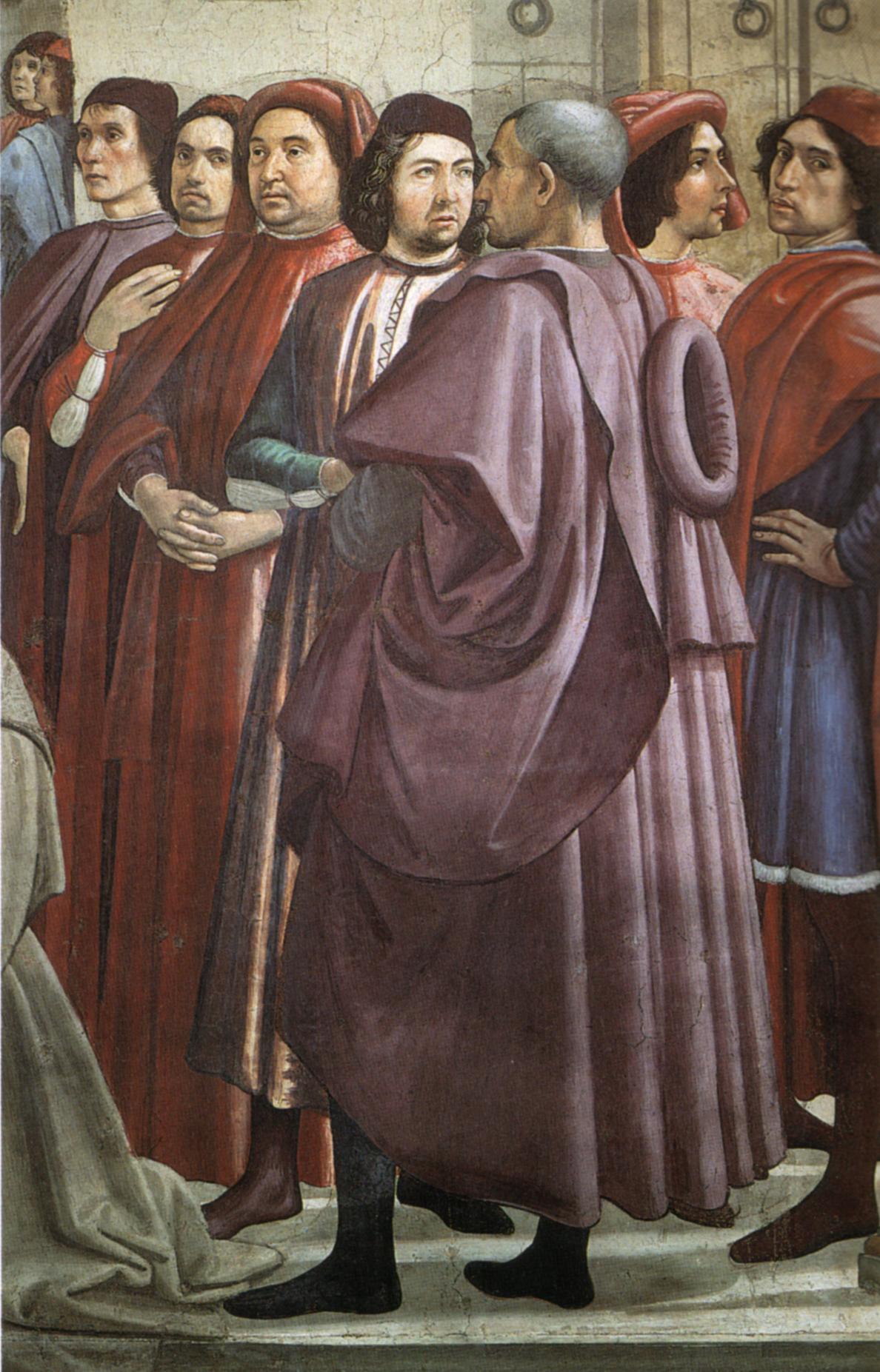 Cappella sassetti, fanciullo resuscitato, dettaglio.jpg