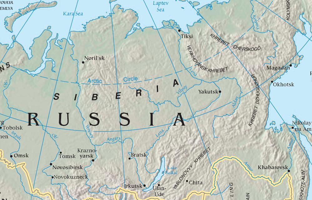 Asia Map Siberia.Fajl Central Siberian Map Png Vikipediya