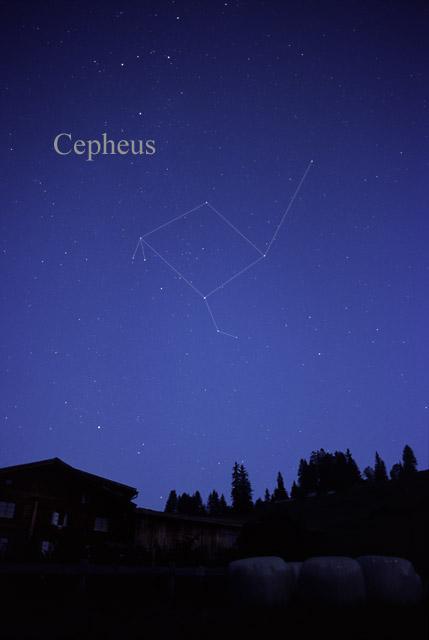 Constellation Of Cepheus Coleyartastro